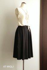 画像5: 太タック&ギャザースカート (5)