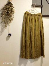 画像3: ロングタック&ギャザースカート (3)