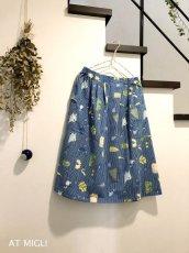 画像7: ロングタック&ギャザースカート (7)