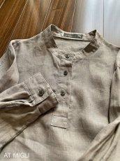 画像6: スタンドカラーシャツ (6)