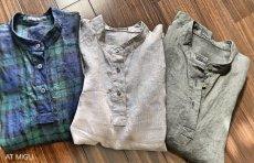 画像12: スタンドカラーシャツ (12)