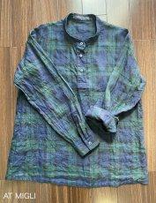 画像8: スタンドカラーシャツ (8)