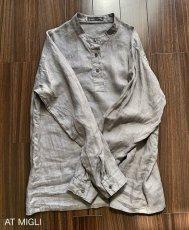 画像7: スタンドカラーシャツ (7)