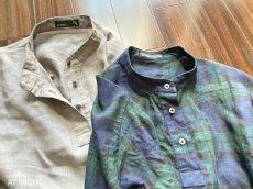 画像4: スタンドカラーシャツ (4)