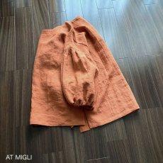 画像5: ドロップショルダーブラウス(LT-19)用 [ ギャザー袖 ] (5)