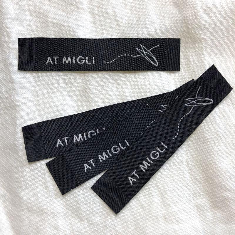 画像1: オリジナル織りネーム (1)